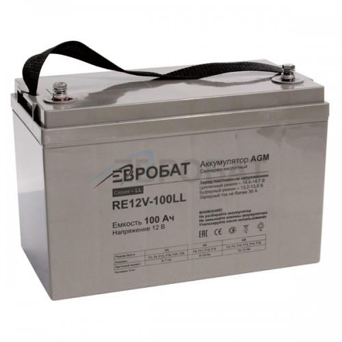 АКБ EUROBAT RE12V-100LL1