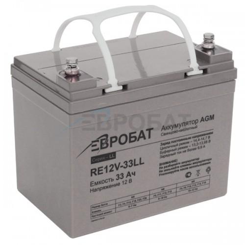 АКБ EUROBAT RE12V-33LL