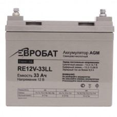 АКБ EUROBAT RE12V-33GS