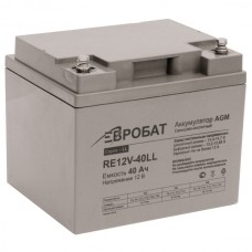 АКБ EUROBAT RE12V-40LL