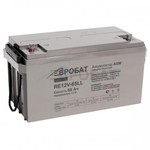 АКБ EUROBAT RE12V-65LL