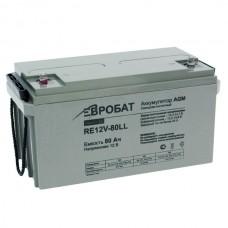 АКБ EUROBAT RE12V-80LL