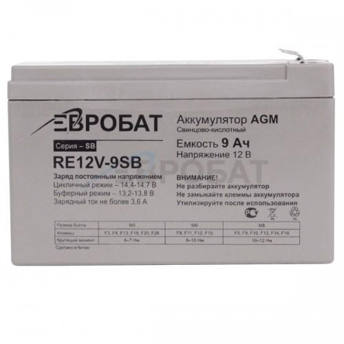 АКБ EUROBAT RE12V-9SB